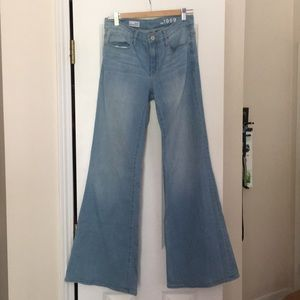 GAP High Rise Trouser Jean Size 29/8